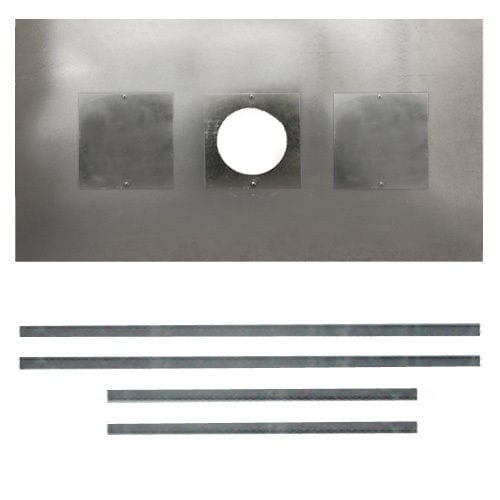 Register Plate With Access Holes 900mm x 495mm