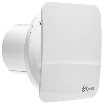 Xpelair 92960AW Simply Silent Contour C4S Standard Square