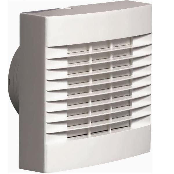 Bathroom Exhaust Fan With Shutter: AirVent Bathroom Fan Standard With Shutters & Pull Cord