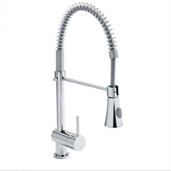 Premier KC314 Single Lever Kitchen Tap With Pull Out Rinser