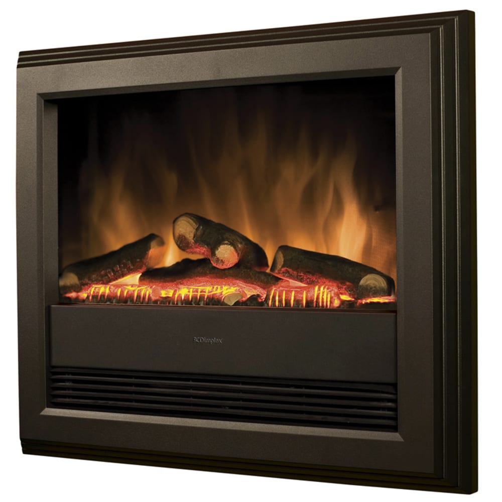 Dimplex Bach Optiflame Electric Fire 2kw Wall Mounted Snh