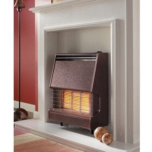 Flavel Firenza Radiant Gas Fire Bronze