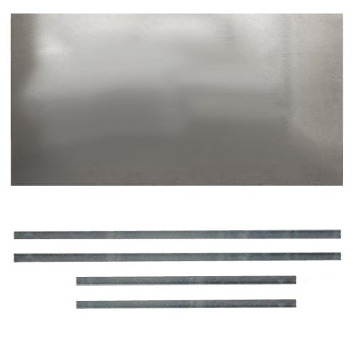 H Plate Register Plate Flat 900mm x 495mm
