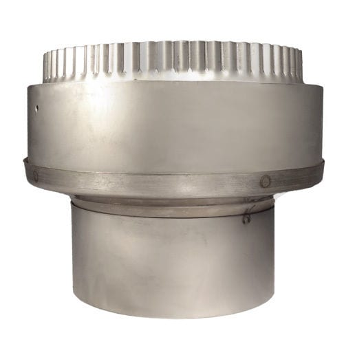 Increasing Flue Adapter 125mm Rigid To 150mm Flex