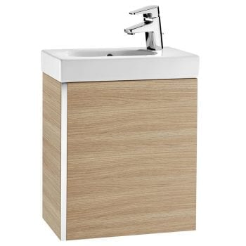 Roca Mini Unik Vanity Unit Textured Oak