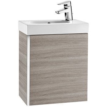 Roca Mini Unik Vanity Unit Textured Grey