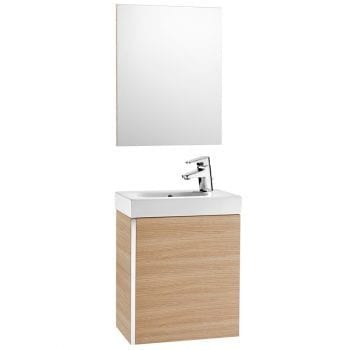 Roca Mini Unik With Mirror Textured Oak