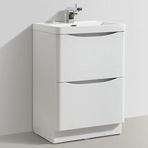 stylish bathroom furniture. Unique Bathroom Cassellie Bali White Ash Vanity Unit 600mm To Stylish Bathroom Furniture A