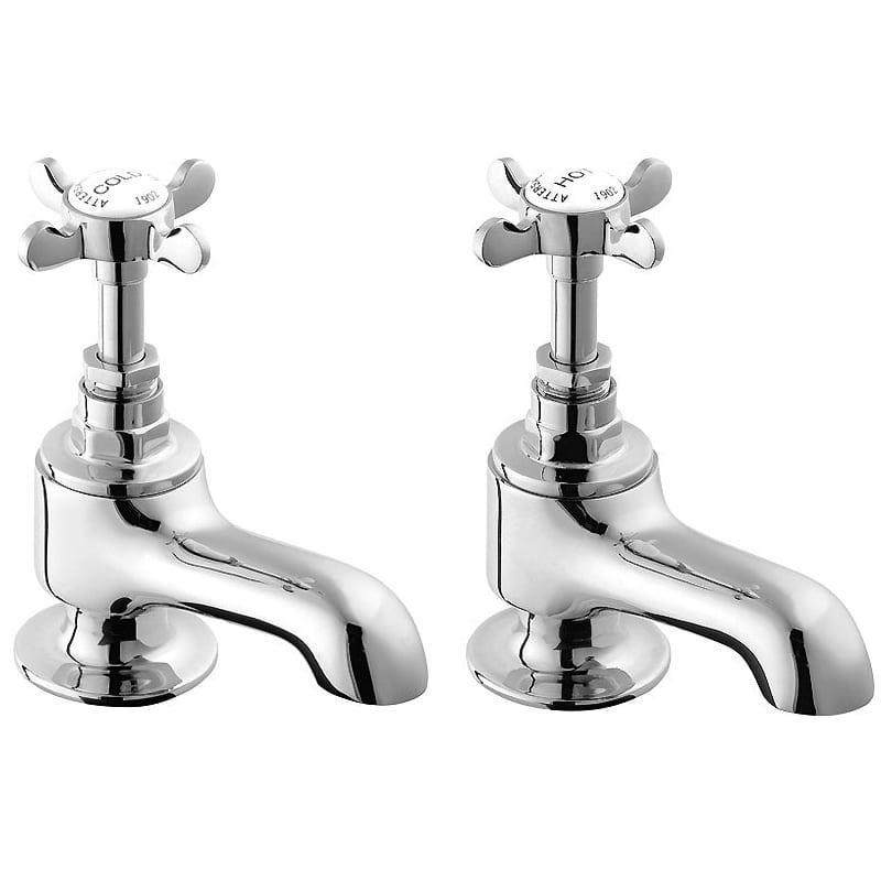 Deva CR20 Coronation Edwardian Chrome Bath Taps - SNH