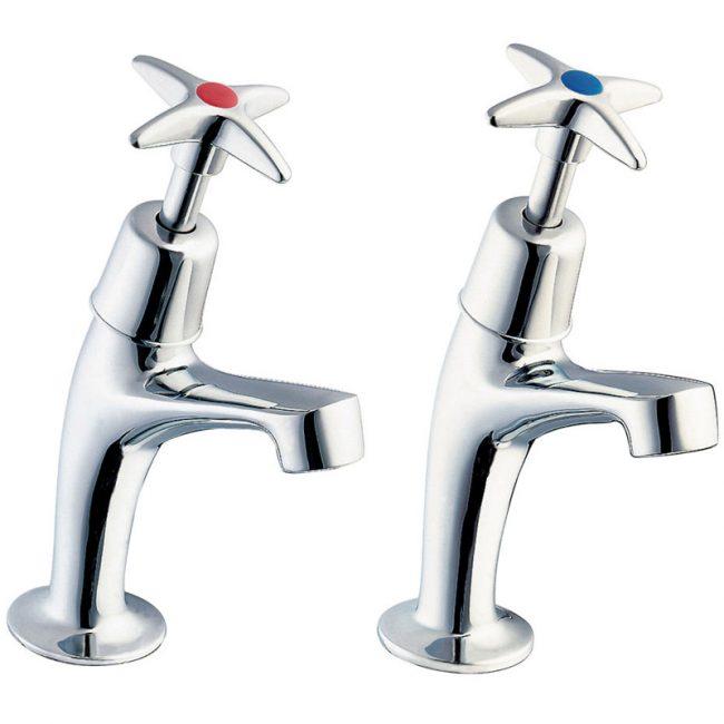 Deva Cross Handle Sink Taps
