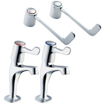 Deva DLV103 6 Inch Lever Action Kitchen Sink Taps