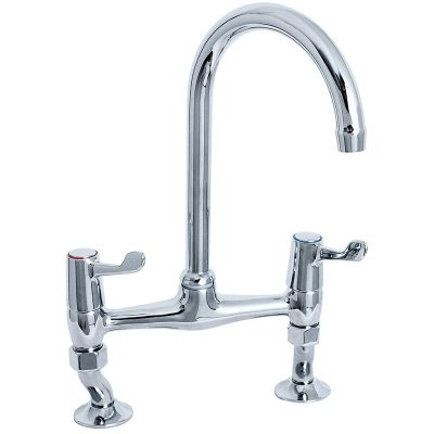 Deva DLT305B 3 inch Lever Kitchen Sink Mixer