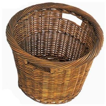 Tanner Log Carrier Wicker Style Log Basket