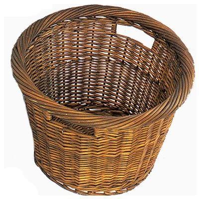 Tanner Log Carrier Wicker Style Log Basket