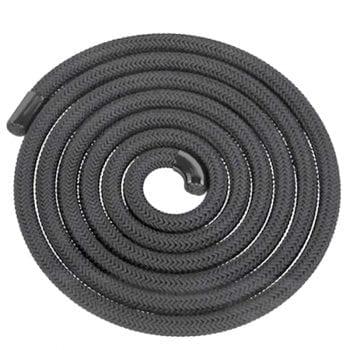 6mm Black Stove Rope