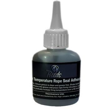 Stove Rope Glue Black