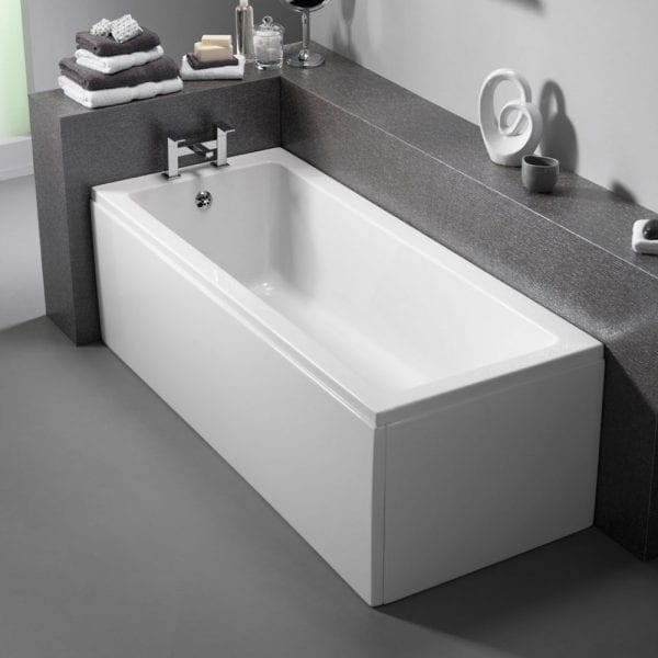 Pura Bloque Single Ended Bath 1700 x 700