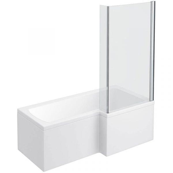 Right Hand 700 x 1700 Square Shower Bath