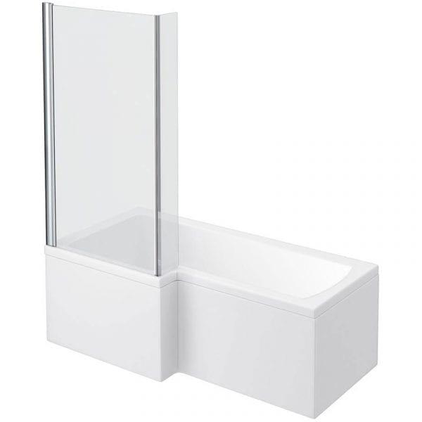 Left Hand 700 x 1700 Square Shower Bath