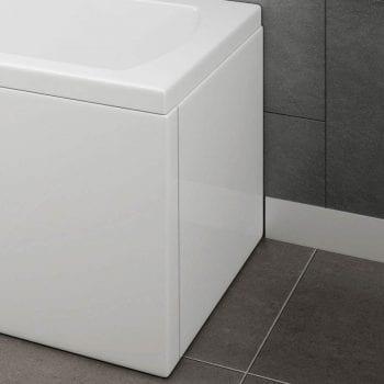 Square Shower Bath End Panel