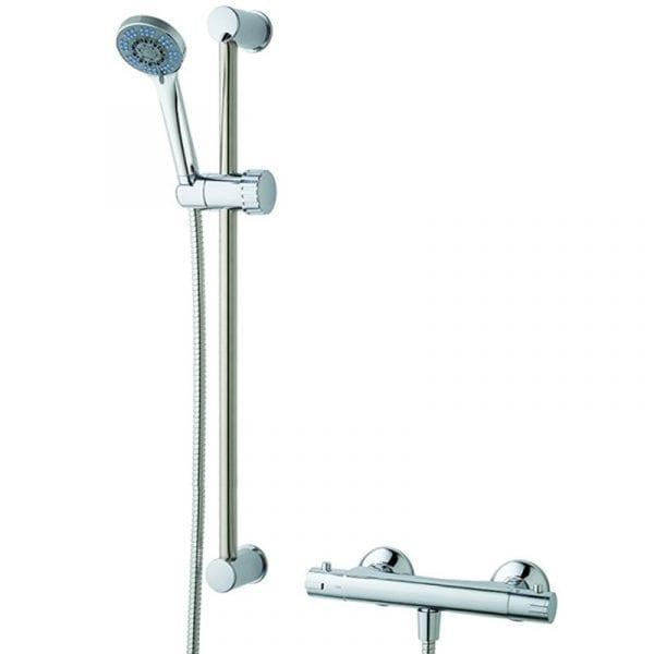 Thermostatic bar shower kit MX KZZ