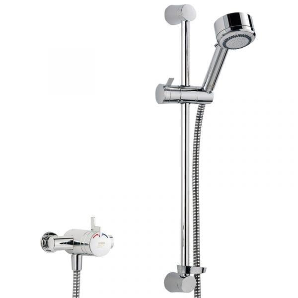 Mira Miniduo Ev Thermostatic Exposed Shower
