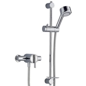Mira Silver Ev Exposed Thermostatic Shower