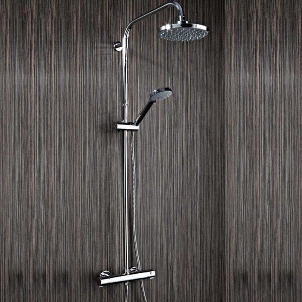 Scudo Middleton Round Bar Shower Kit