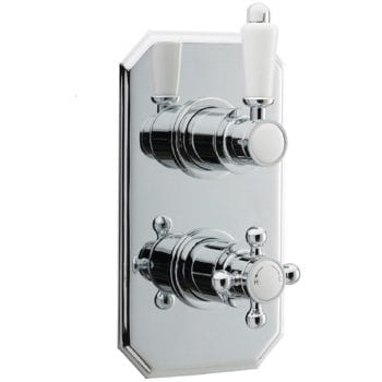 Premier Concealed Thermostatic Traditional Shower Valve