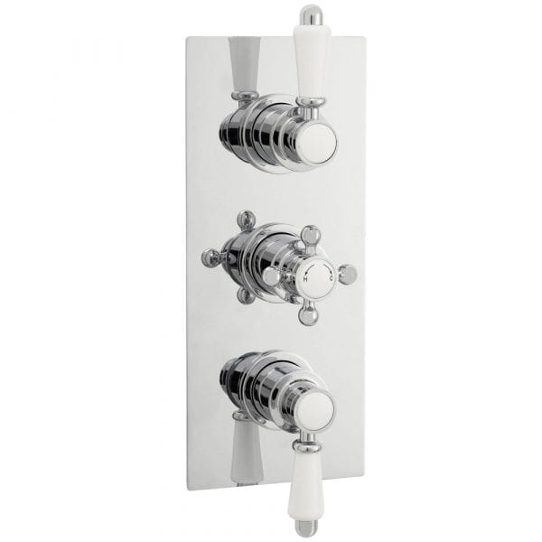 Premier Concealed Triple Shower Valve