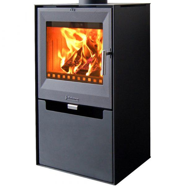 Aduro 14 Black Stove Wood Burning 6.5KW