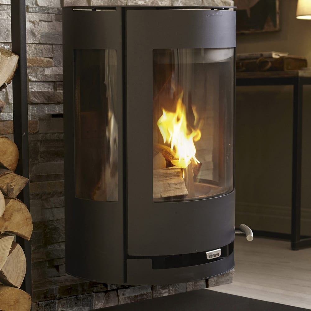 Favorit Aduro 9-4 Defra Approved 6 Kw Wood Burning Stove - SNH PE41