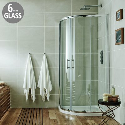 shower cubical 900x760