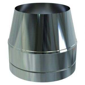 Cone Top Cowel Stainless Steel 125mm