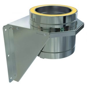 Adjustable Base Support 125mm Stainless Steel