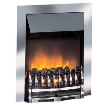 Dimplex Wynford Electric Fires Chrome