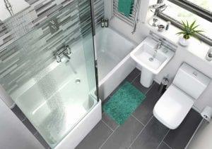 Small Bathroom Suites.