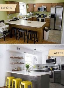Budget Kitchen Make Over