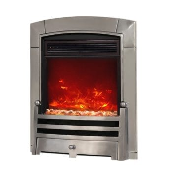 "Celsi Electriflame Caress Bauhaus 16"" Inset Electric Fire"