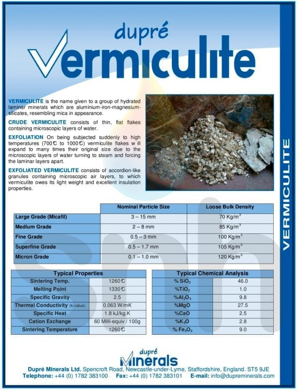 Vermiculite 100 Litre