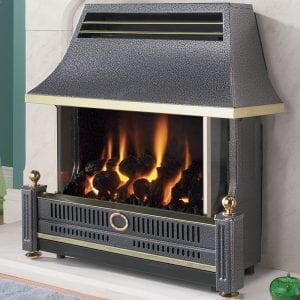 Flavel Renoir Black Gas Fire