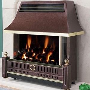 Flavel Renoir Bronze Gas Fire