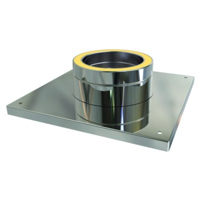 Convesa Console Plate 125mm Stainless Steel