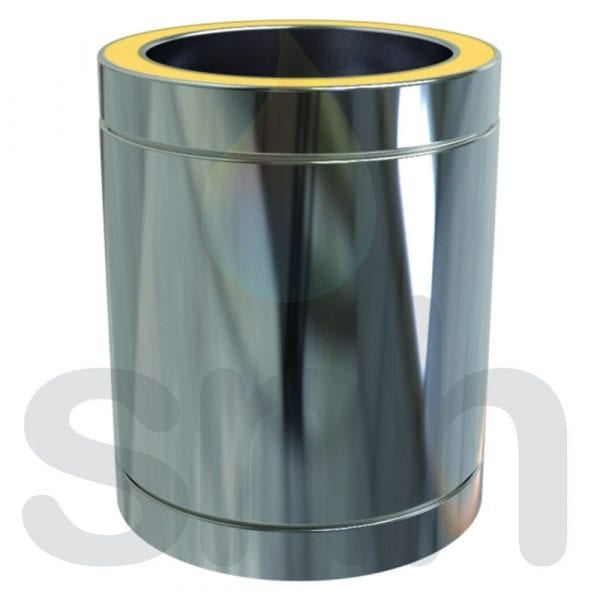 Twin Wall Insulated Pipe 250mm - 150mm Stainless Steel