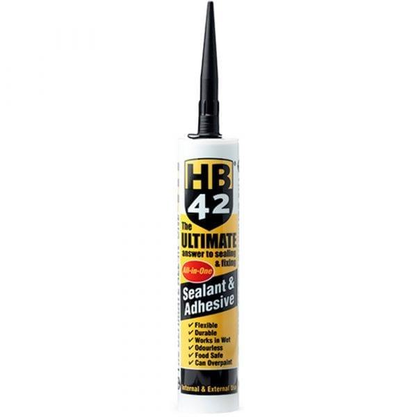 HB42 Ultimate Sealant Adhesive Black