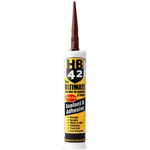 HB42 Ultimate Sealant Adhesive Brown