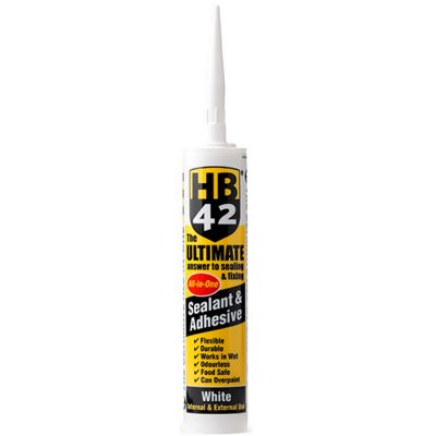 HB42 Ultimate Sealant Adhesive White