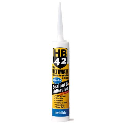 HB42 Ultimate Sealant Adhesive Invisible