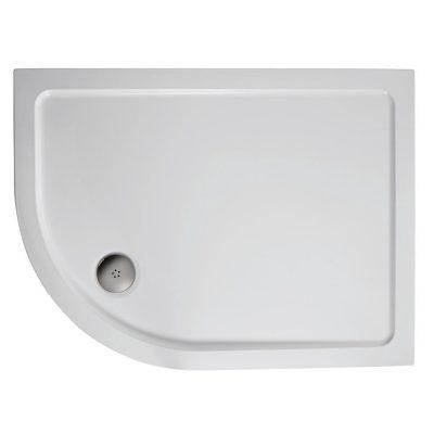 1200 x 800 Offset Quadrant Left Hand Shower Tray