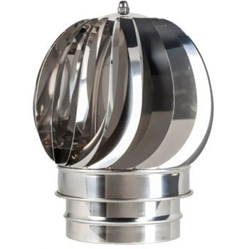 Rotating Spinning Cowl Stainless Steel 150mm